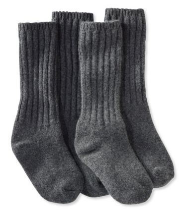 "Men's Merino Wool Ragg Socks, 12"" Two-Pack"