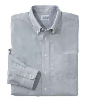 Men's Wrinkle-Free Classic Oxford Cloth Shirt, Traditional Fit