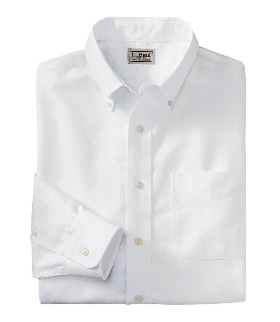 Wrinkle-Free Classic Oxford Cloth Shirt, Traditional Fit