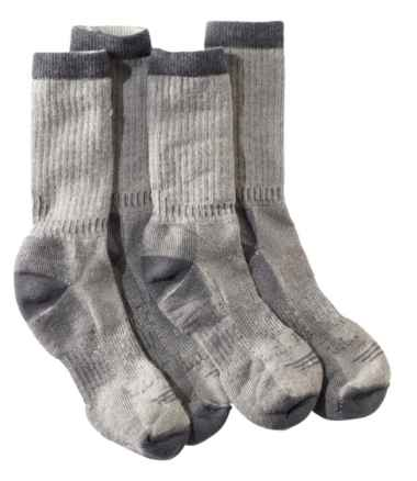 Men's Cresta Hiking Socks, Lightweight Two-Pack