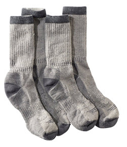 Adults' Cresta Hiking Socks, Lightweight Two-Pack
