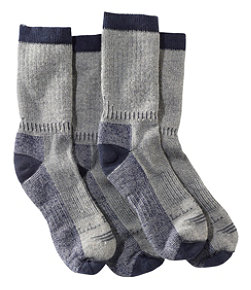Adults' Cresta Hiking Socks, Midweight Two-Pack