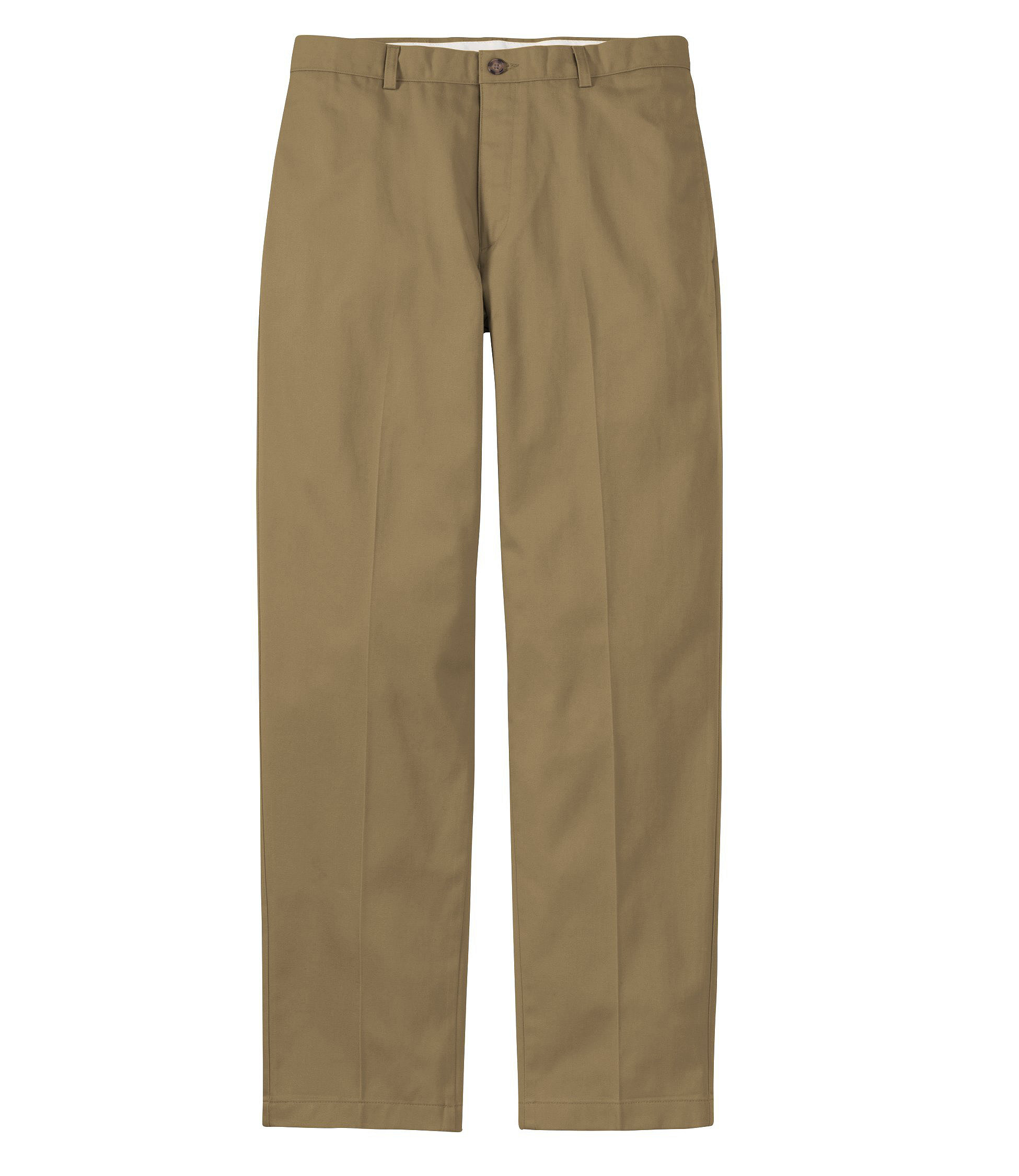 Wrinkle Free Double L® Chinos, Classic Fit Plain Front by L.L.Bean