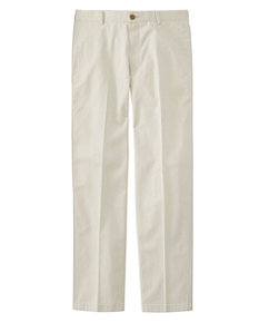 Wrinkle-Free Double L Chinos, Classic Fit Plain Front