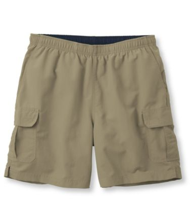 "Supplex Cargo Sport Shorts, 6"" Inseam"