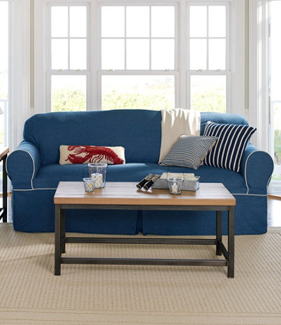 Washable Furniture Slipcovers - Washable Furniture Slipcovers Free Shipping At L.L.Bean