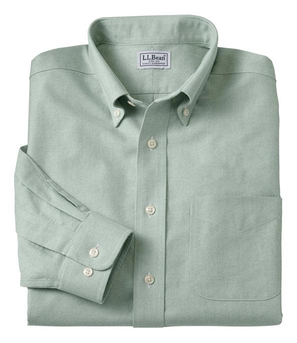 Wrinkle-Free Classic Oxford Cloth Shirt, Dark Elm, large image number 0