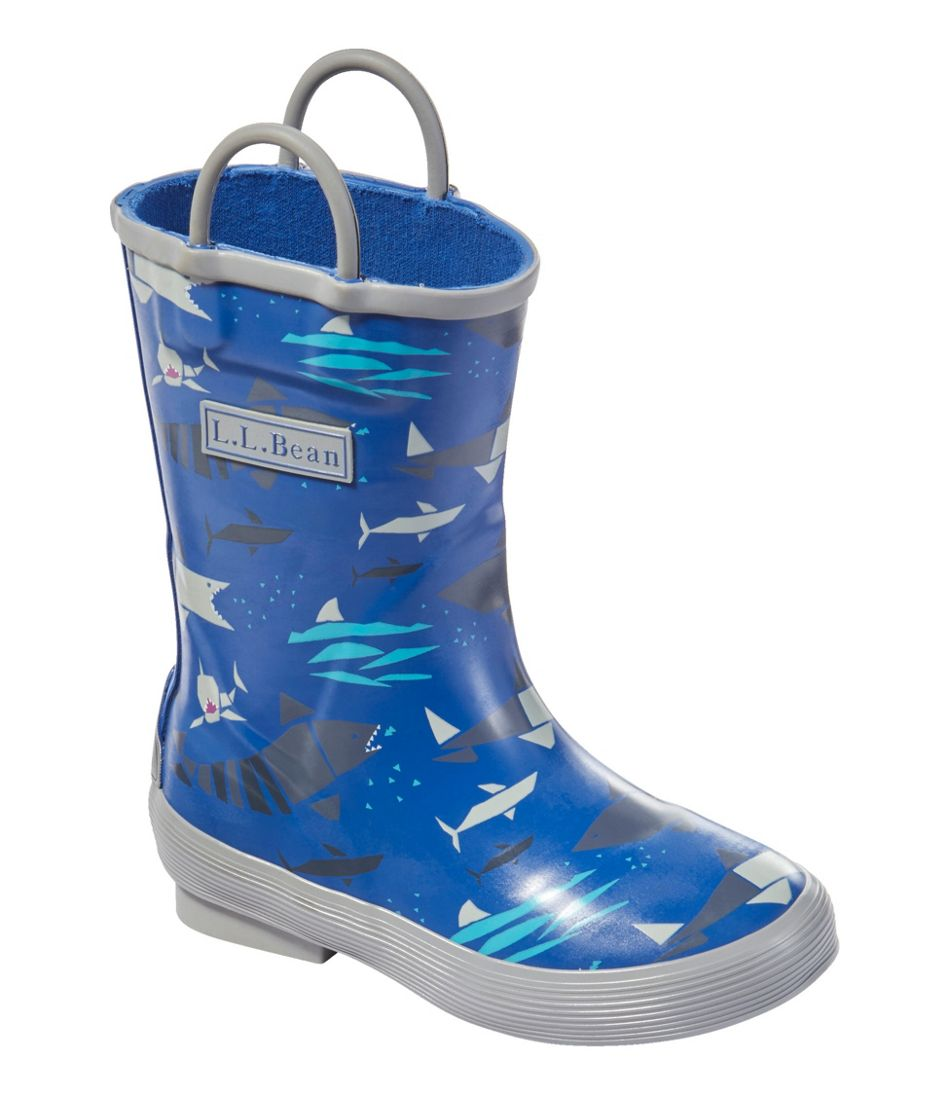 Toddlers' Puddle Stompers Rain Boots, Print