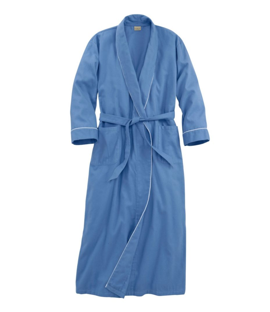 Pima Cotton Flannel Robe. Fits As Expected  100% b83ad852b