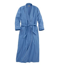 Women's Pima Cotton Flannel Robe Misses' Regular