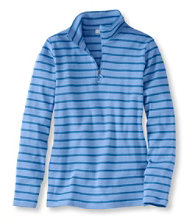 Women's French Sailor's Pullover, Long-Sleeve Quarter-Zip