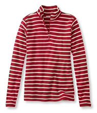 French Sailor's Pullover, Long-Sleeve Quarter-Zip