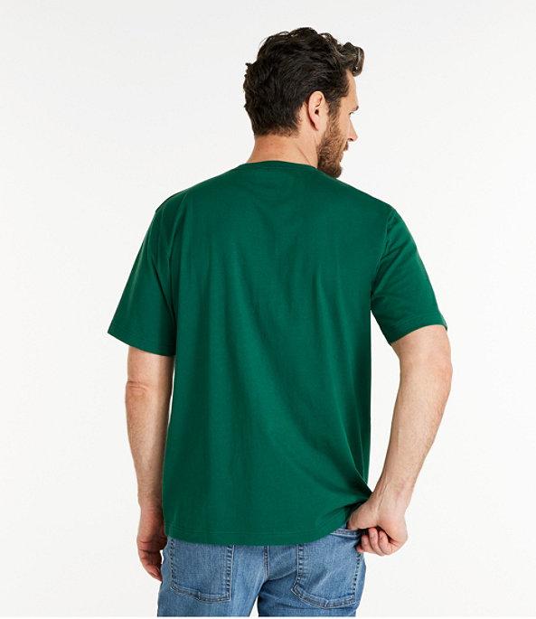 Men's Carefree Unshrinkable T-Shirt Slightly Fitted, , large image number 2