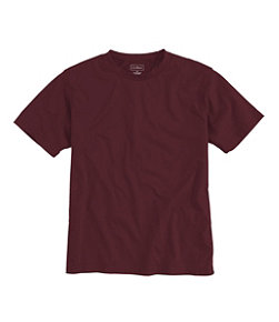 Carefree Unshrinkable Tee, Traditional Fit Short-Sleeve