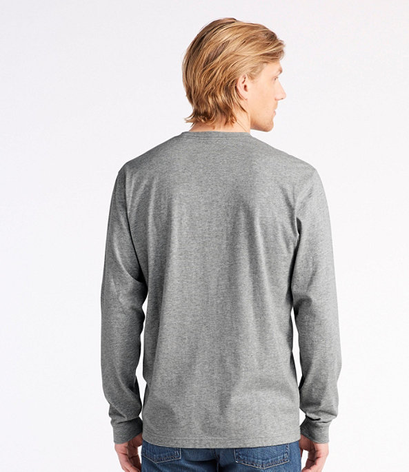 Men's Carefree Long-Sleeve Unshrinkable Shirt, , large image number 2