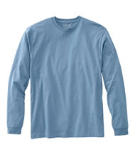 Men's Carefree Unshrinkable Tee, Traditional Fit Long-Sleeve