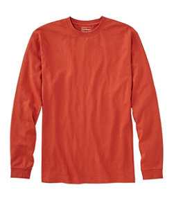 Men's Carefree Unshrinkable Tee, Traditional Fit, Long-Sleeve