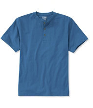 Carefree Unshrinkable Tee, Traditional Fit Henley