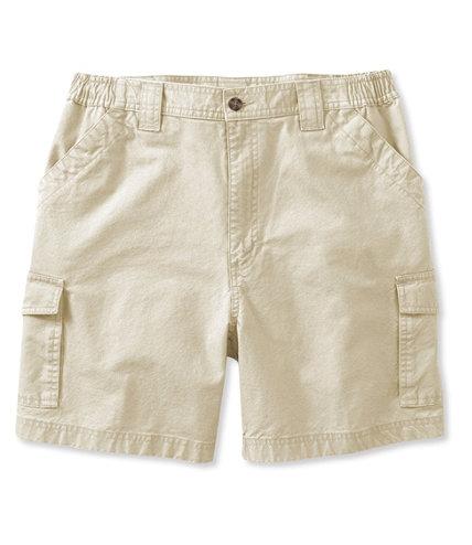 "Men's Tropic-Weight Cargo Shorts, Comfort Waist 6"" Inseam"