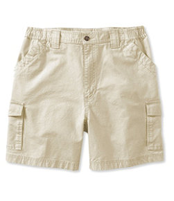 "Tropic-Weight Cargo Shorts, Comfort Waist 6"" Inseam"