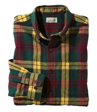 Men's Scotch Plaid Flannel Shirt, Traditional Fit