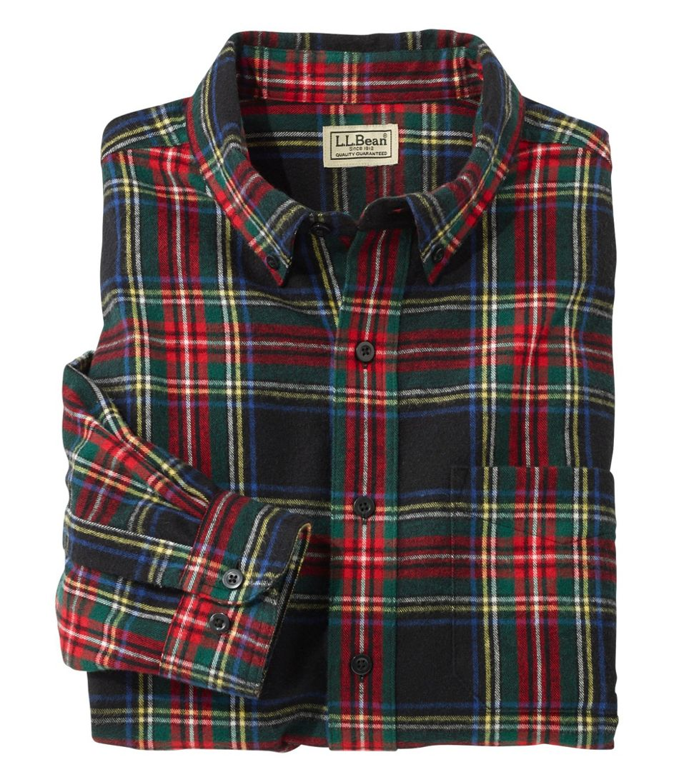 Scotch Plaid Flannel Shirt, Traditional Fit