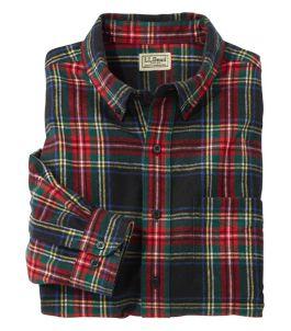 Scotch Plaid Flannel Shirt, Traditional Fit