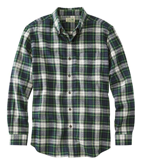 Scotch Plaid Flannel Shirt, Dress Gordon, large image number 0