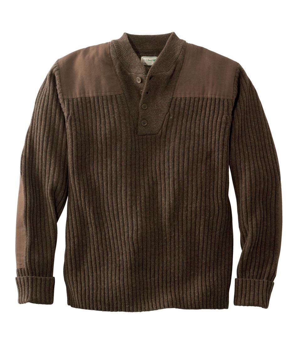 Men's Commando Sweater, Henley