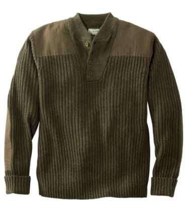 Men's Commando Sweater, Henley