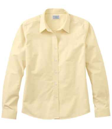 Long-Sleeve Wrinkle Resistant All Cotton Shirt Fit