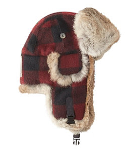 Adults' Mad Bomber Hat, Buffalo Plaid