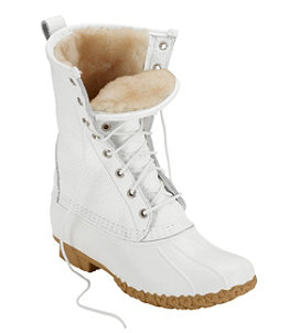 "Women's L.L.Bean Boots, 10"" Shearling-Lined"