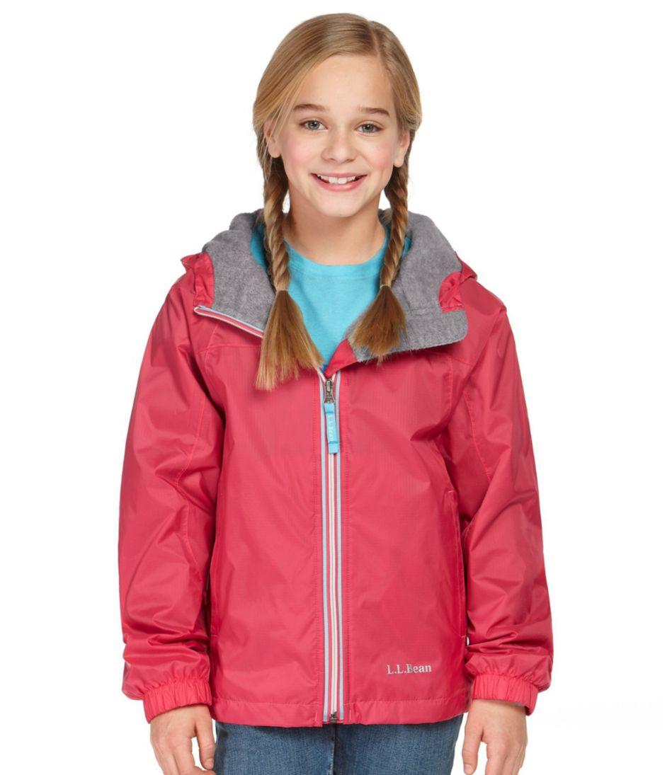 Kids' Discovery Rain Jacket, Lined