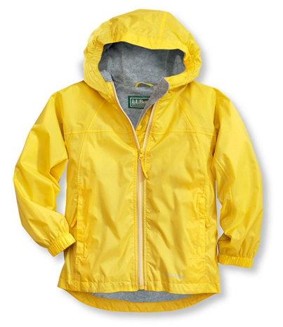 Kids' Discovery Rain Jacket, Lined | Free Shipping at L.L.Bean