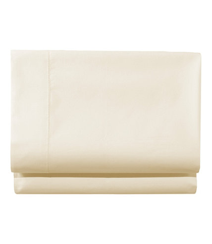 280 Thread Count Pima Cotton Percale Sheet, Fitted