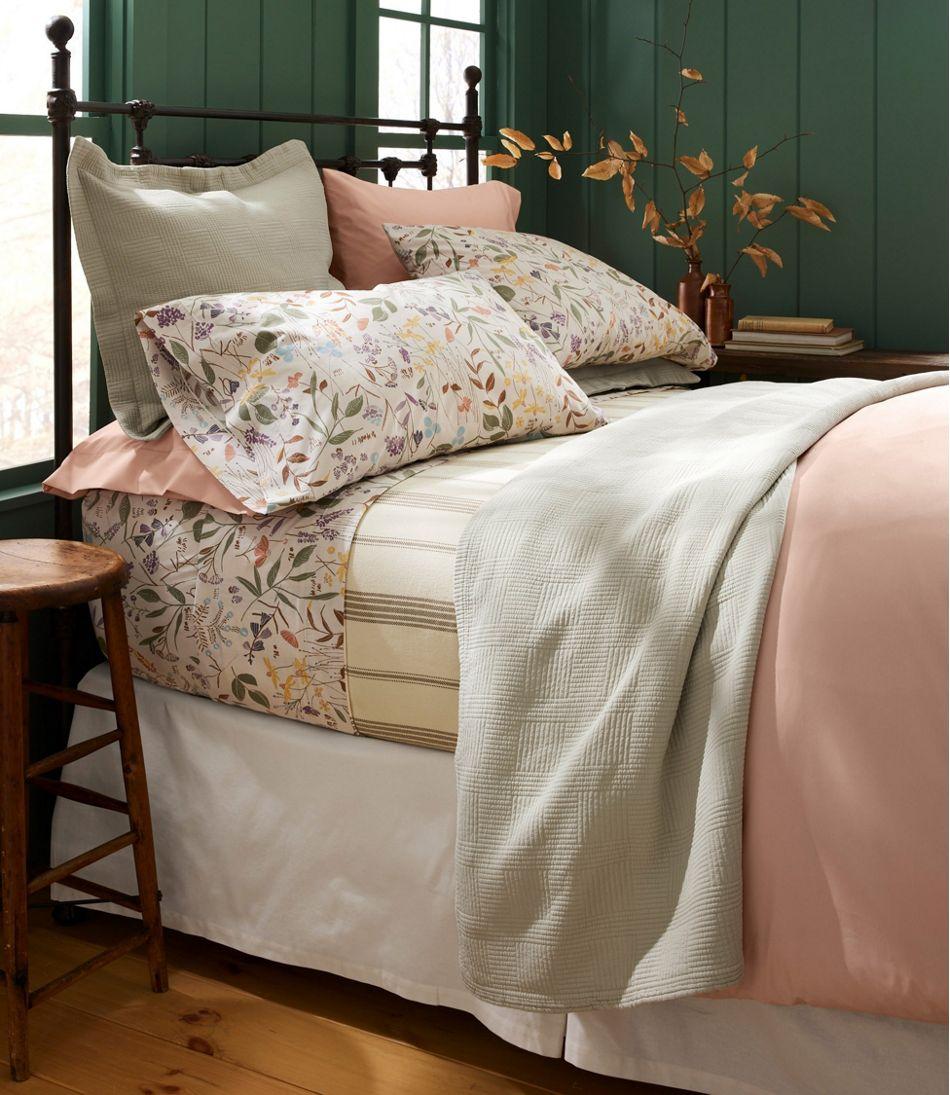 280-Thread-Count Pima Cotton Percale Comforter Cover Collection