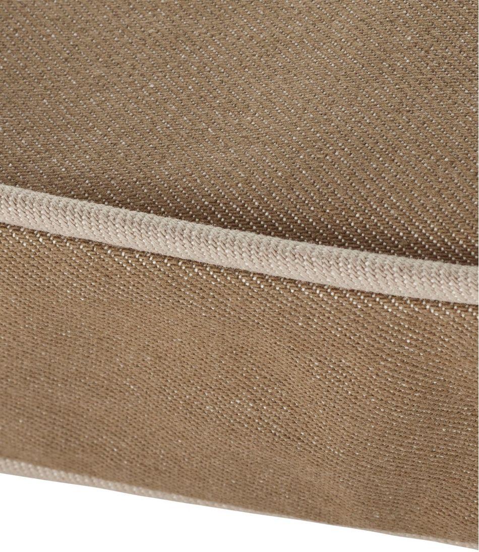 Premium Denim Dog Bed Replacement Cover, Rectangular