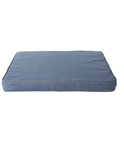 Premium Denim Dog Bed Replacement Cover, Rectangular