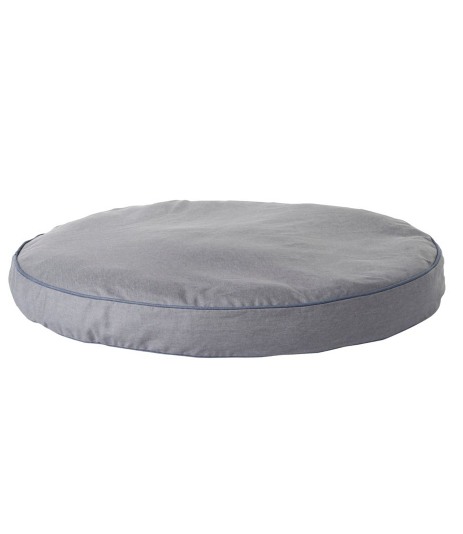 Premium Denim Dog Bed Replacement Cover, Round