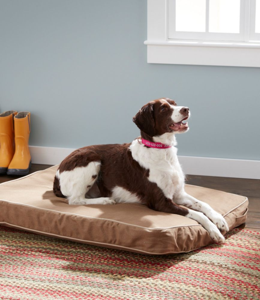 Premium Denim Dog Bed Set, Rectangular