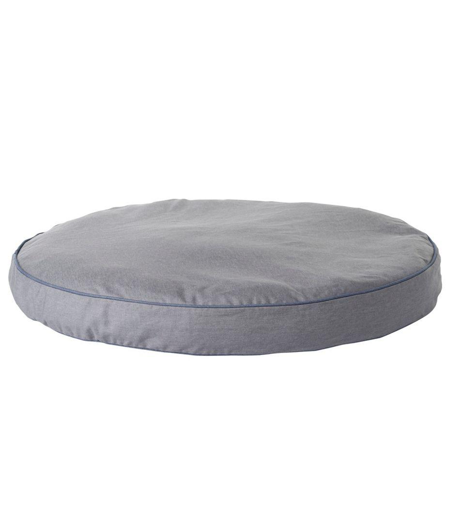 Premium Denim Dog Bed Set, Round