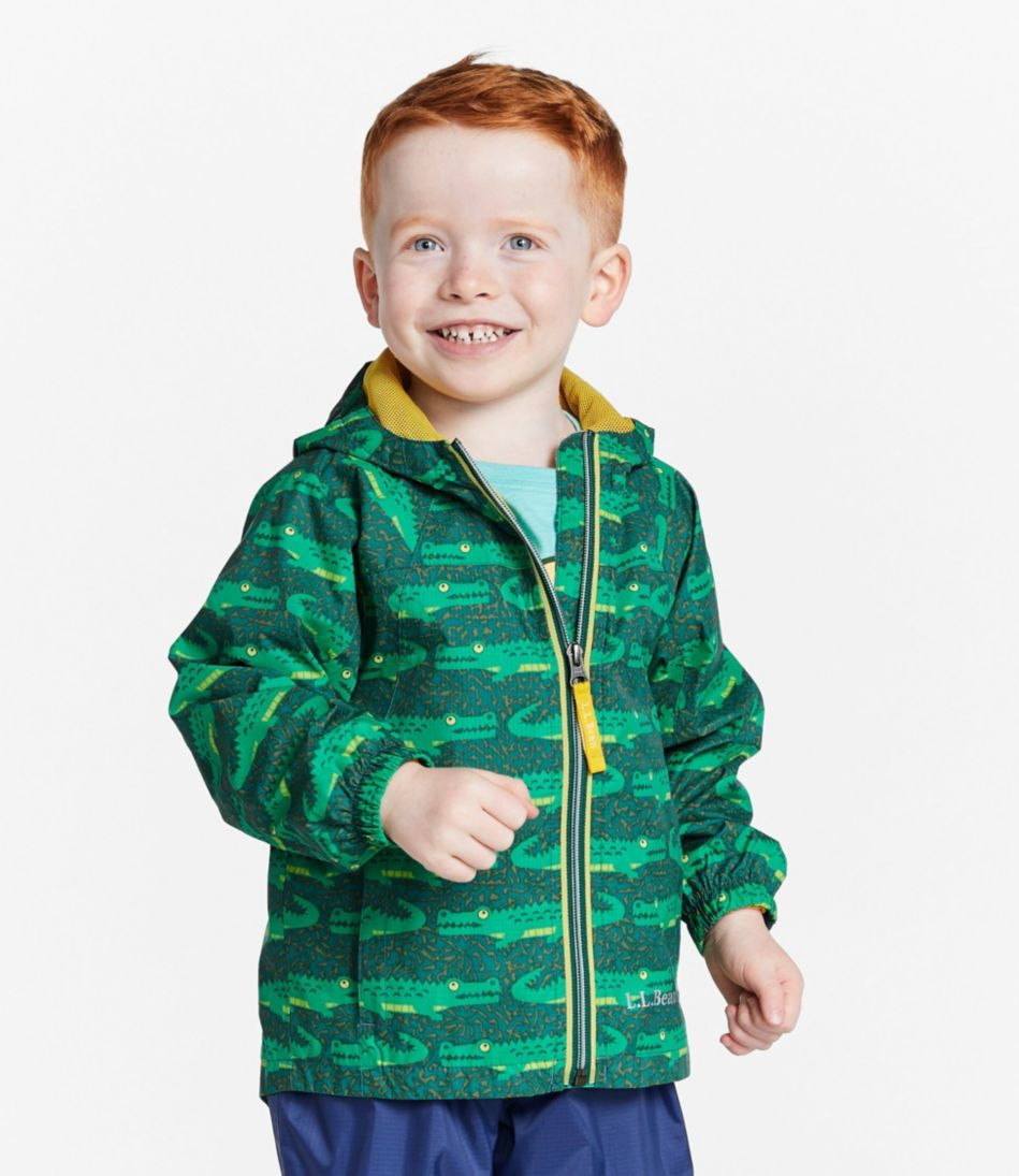 Infants' and Toddlers' Discovery Rain Jacket, Print