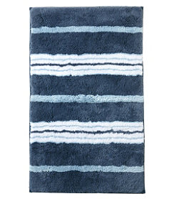 Premium Cotton Bath Mat, Multistripe