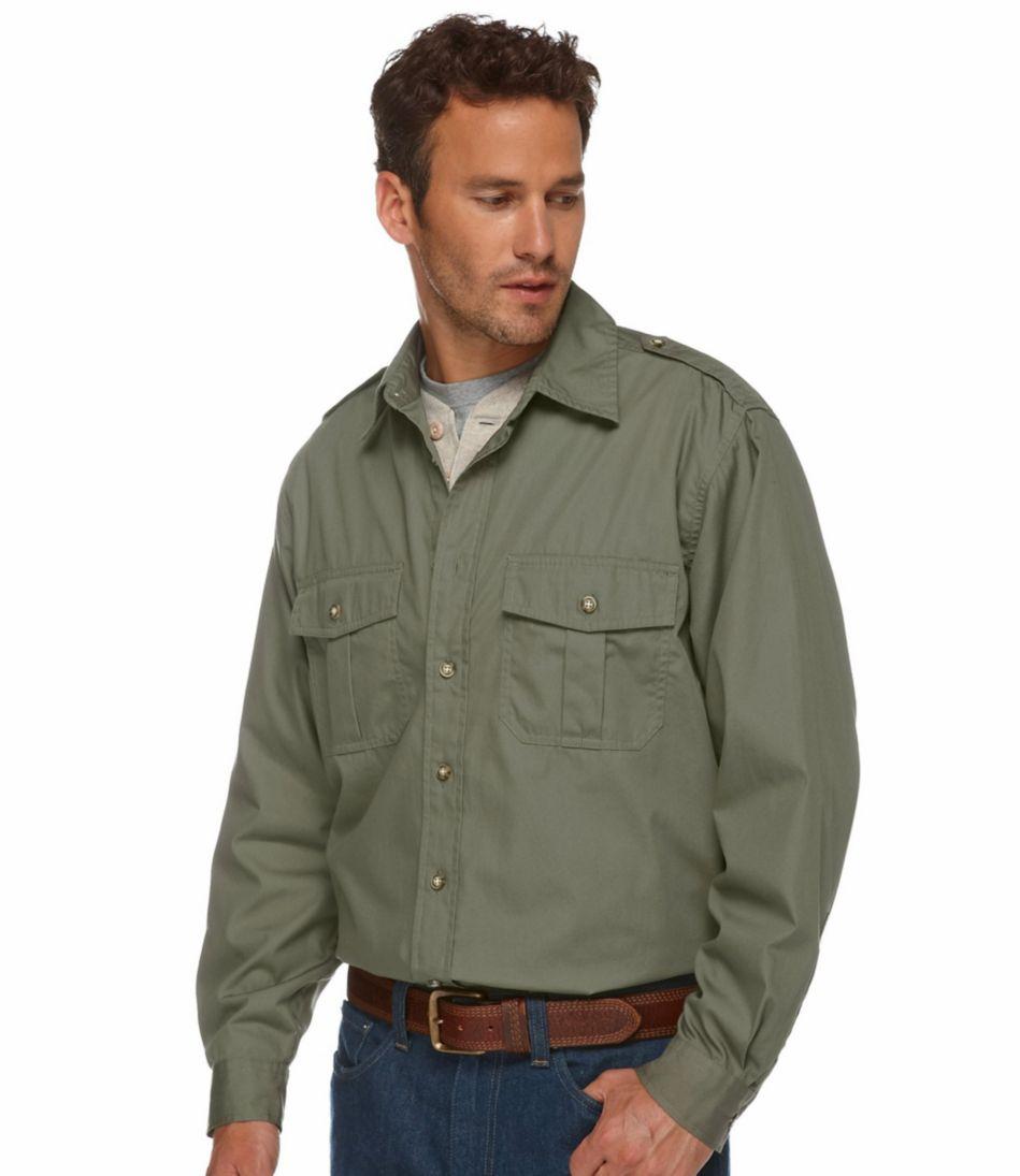 Men's Cotton Poplin Field Shirt