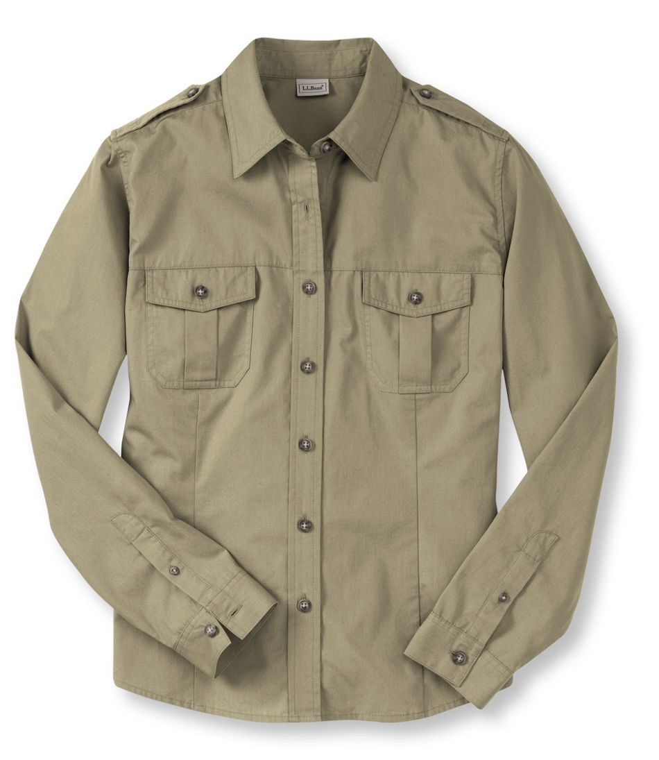 Women's Cotton Poplin Field Shirt