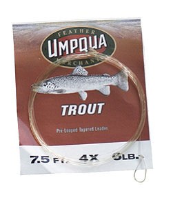 Umpqua Tapered Leaders, Trout