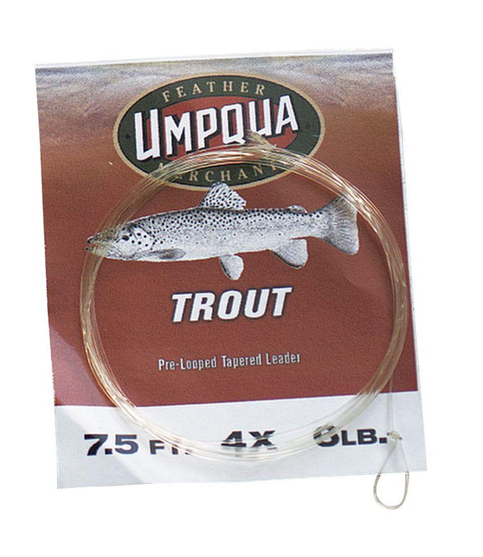 Umpqua Tapered Leaders, Trout