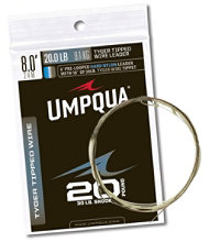 Umpqua Tapered Leaders, Tyger-Tipped