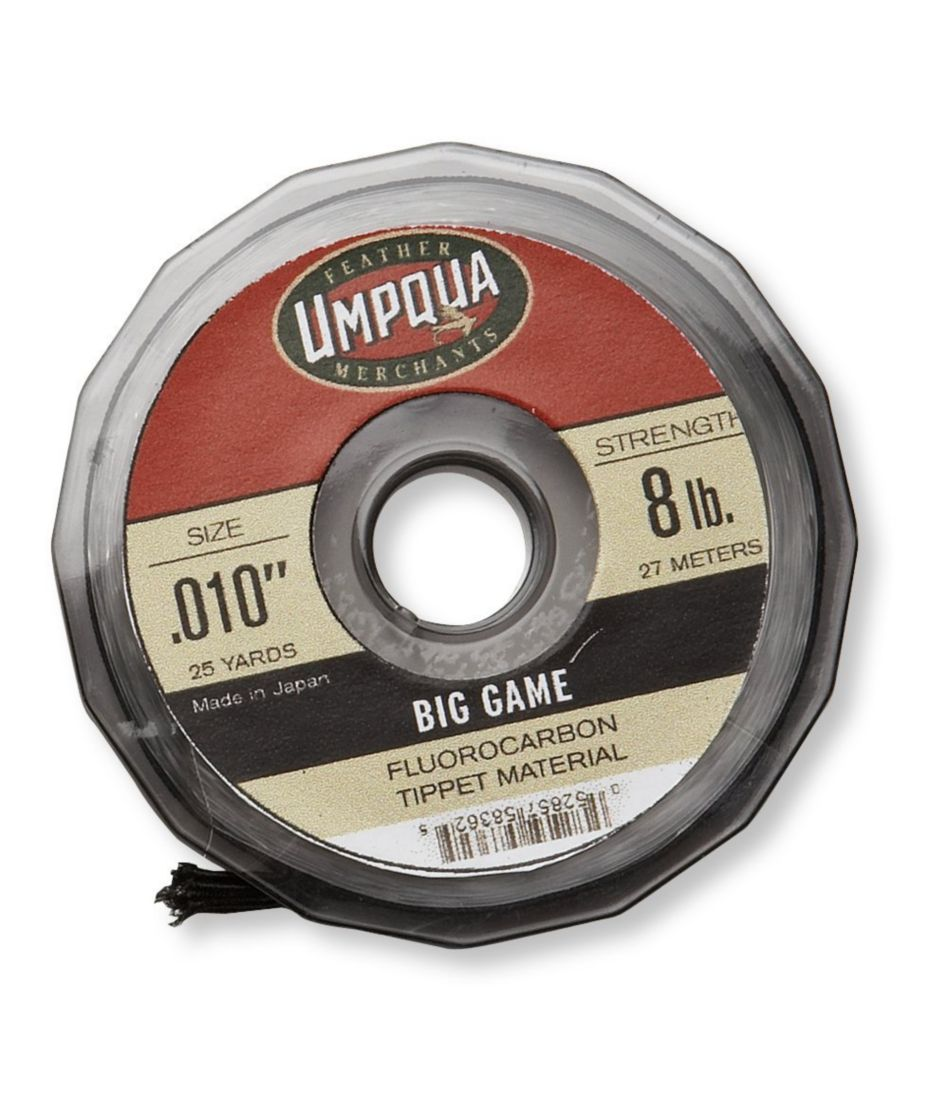 Umpqua Tippet Material, Fluorocarbon Big Game